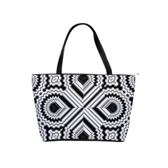 Pattern Tile Seamless Design Shoulder Handbags by Amaryn4rt