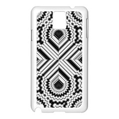Pattern Tile Seamless Design Samsung Galaxy Note 3 N9005 Case (white) by Amaryn4rt