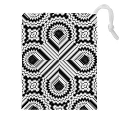 Pattern Tile Seamless Design Drawstring Pouches (xxl) by Amaryn4rt