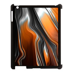 Fractal Structure Mathematic Apple Ipad 3/4 Case (black) by Amaryn4rt