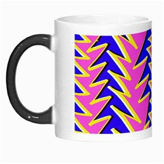 Triangle Pink Blue Morph Mugs