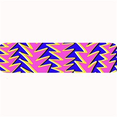 Triangle Pink Blue Large Bar Mats