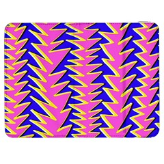 Triangle Pink Blue Samsung Galaxy Tab 7  P1000 Flip Case