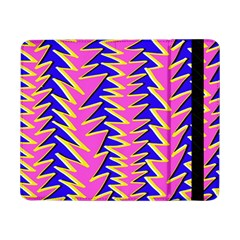 Triangle Pink Blue Samsung Galaxy Tab Pro 8 4  Flip Case by Alisyart