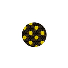 Sunflower Yellow 1  Mini Buttons