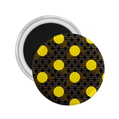 Sunflower Yellow 2 25  Magnets