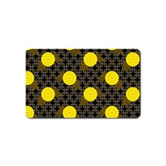 Sunflower Yellow Magnet (name Card)