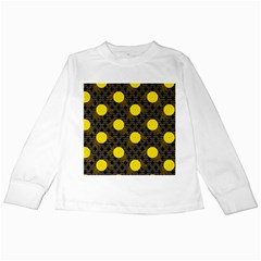 Sunflower Yellow Kids Long Sleeve T Shirts