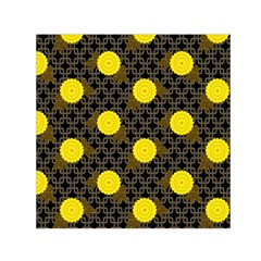 Sunflower Yellow Small Satin Scarf (square)