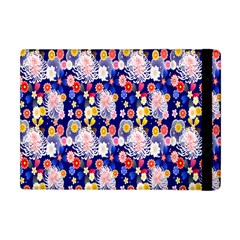 Season Flower Arrangements Purple Apple Ipad Mini Flip Case by Alisyart