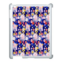 Season Flower Arrangements Purple Apple Ipad 3/4 Case (white)
