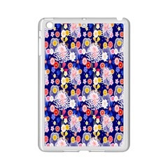 Season Flower Arrangements Purple Ipad Mini 2 Enamel Coated Cases