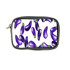 Vegetables Eggplant Purple Coin Purse