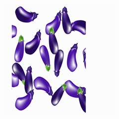 Vegetables Eggplant Purple Small Garden Flag (two Sides)
