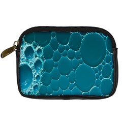 Water Bubble Blue Digital Camera Cases