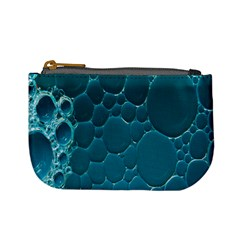 Water Bubble Blue Mini Coin Purses