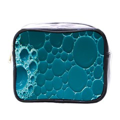 Water Bubble Blue Mini Toiletries Bags