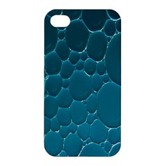 Water Bubble Blue Apple Iphone 4/4s Hardshell Case