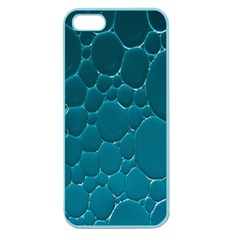 Water Bubble Blue Apple Seamless Iphone 5 Case (color)