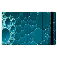 Water Bubble Blue Apple Ipad 3/4 Flip Case by Alisyart