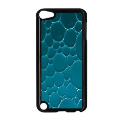 Water Bubble Blue Apple Ipod Touch 5 Case (black)