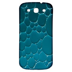 Water Bubble Blue Samsung Galaxy S3 S Iii Classic Hardshell Back Case