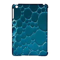 Water Bubble Blue Apple Ipad Mini Hardshell Case (compatible With Smart Cover)