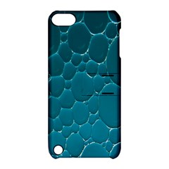 Water Bubble Blue Apple Ipod Touch 5 Hardshell Case With Stand