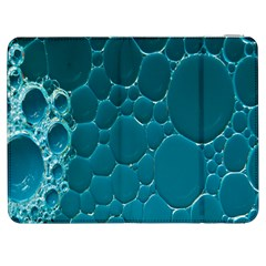 Water Bubble Blue Samsung Galaxy Tab 7  P1000 Flip Case