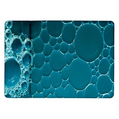 Water Bubble Blue Samsung Galaxy Tab 10 1  P7500 Flip Case