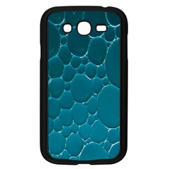 Water Bubble Blue Samsung Galaxy Grand Duos I9082 Case (black)