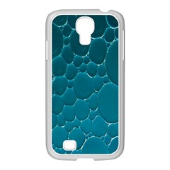 Water Bubble Blue Samsung Galaxy S4 I9500/ I9505 Case (white) by Alisyart