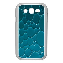 Water Bubble Blue Samsung Galaxy Grand Duos I9082 Case (white)