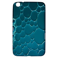Water Bubble Blue Samsung Galaxy Tab 3 (8 ) T3100 Hardshell Case