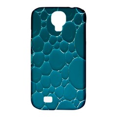 Water Bubble Blue Samsung Galaxy S4 Classic Hardshell Case (pc+silicone)