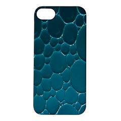 Water Bubble Blue Apple Iphone 5s/ Se Hardshell Case