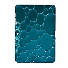 Water Bubble Blue Samsung Galaxy Tab 2 (10 1 ) P5100 Hardshell Case