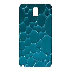 Water Bubble Blue Samsung Galaxy Note 3 N9005 Hardshell Back Case by Alisyart