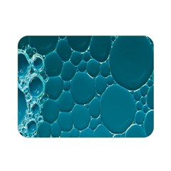 Water Bubble Blue Double Sided Flano Blanket (mini)