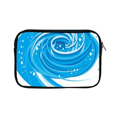Water Round Blue Apple Ipad Mini Zipper Cases