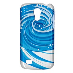 Water Round Blue Galaxy S4 Mini