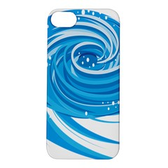 Water Round Blue Apple Iphone 5s/ Se Hardshell Case