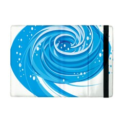 Water Round Blue Ipad Mini 2 Flip Cases