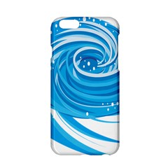 Water Round Blue Apple Iphone 6/6s Hardshell Case by Alisyart
