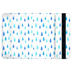 Water Rain Blue Ipad Air Flip by Alisyart