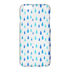 Water Rain Blue Apple Iphone 6 Plus/6s Plus Hardshell Case