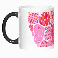 Valentines Day Pink Heart Love Morph Mugs by Alisyart