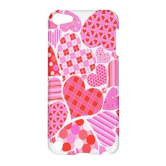 Valentines Day Pink Heart Love Apple Ipod Touch 5 Hardshell Case