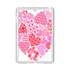 Valentines Day Pink Heart Love Ipad Mini 2 Enamel Coated Cases