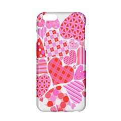 Valentines Day Pink Heart Love Apple Iphone 6/6s Hardshell Case by Alisyart